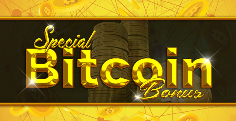Special Bitcoin Bonus