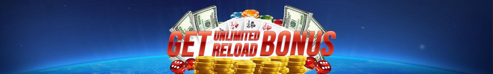 Unlimited Reload Bonus