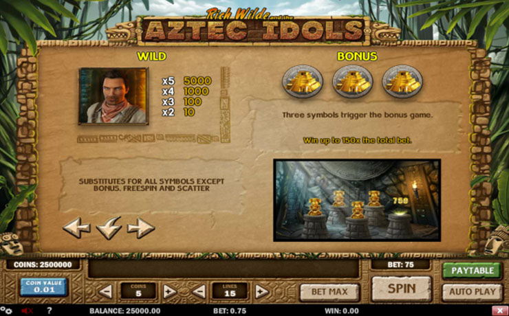 Aztec Idols Screenshot #4