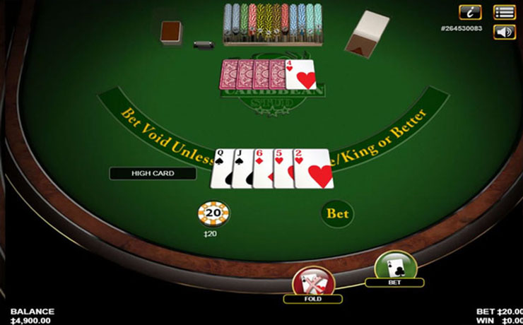 Caribbean Stud Poker Screenshot #3