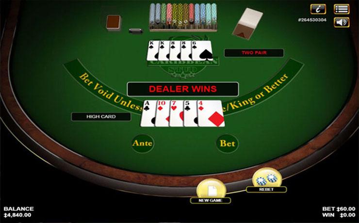 Caribbean Stud Poker Screenshot #4
