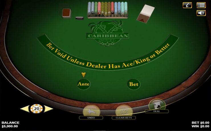 Caribbean Stud Poker Screenshot #1