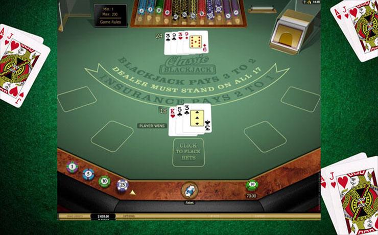Classic Blackjack Gold Screenshot #2