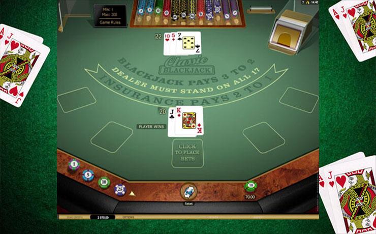 Classic Blackjack Gold Screenshot #3