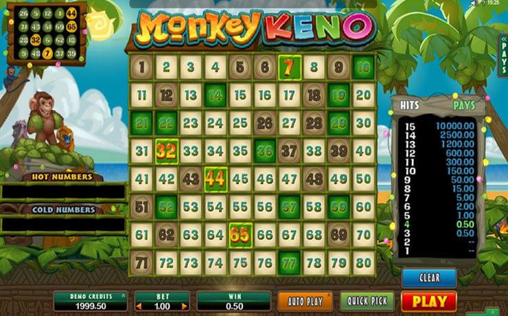 Monkey Keno Screenshot #4