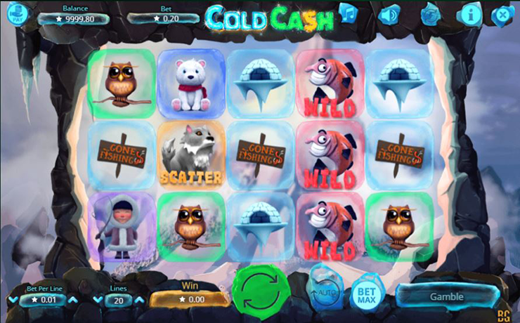 Cold Cash Slot Screenshot #1