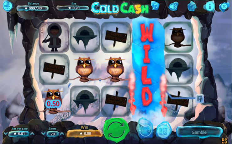 Cold Cash Slot Screenshot #2