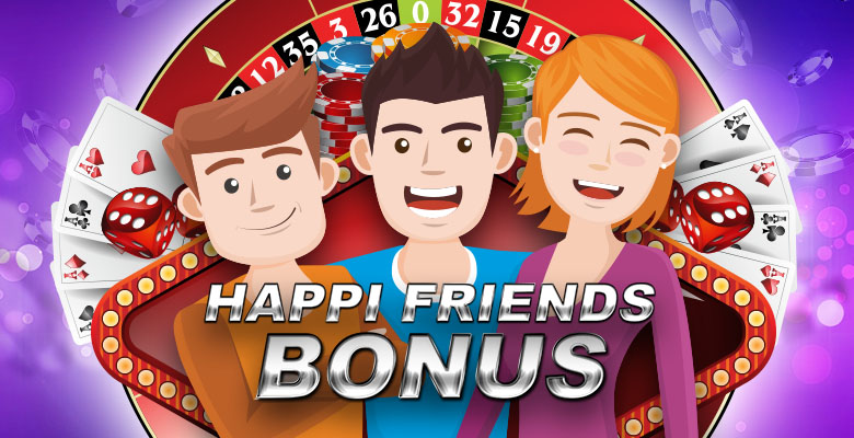 Happi Friends Bonus
