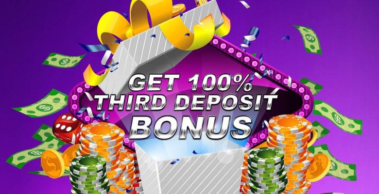 HappiStar Third Deposit Bonus