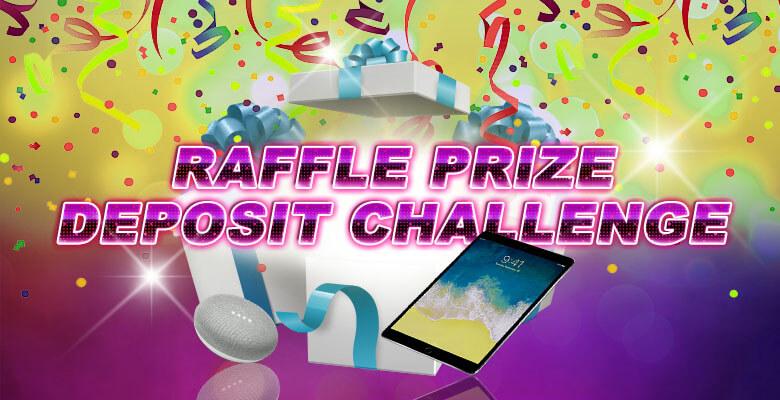 Raffle Prize Deposit Challenge