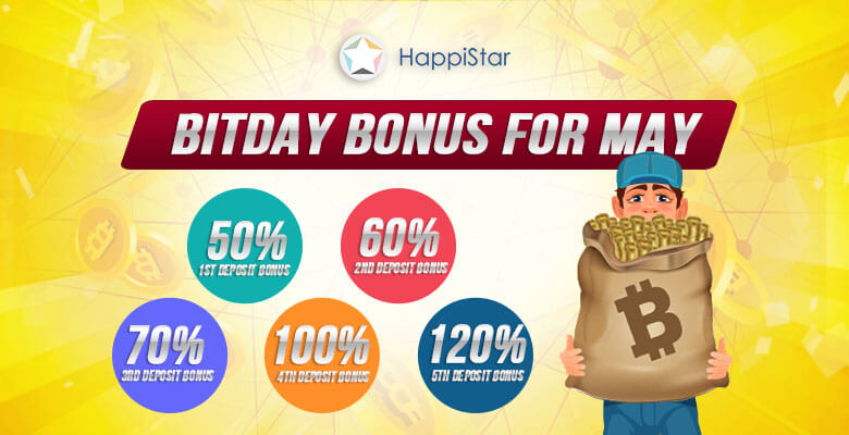 May BitDay Bonus