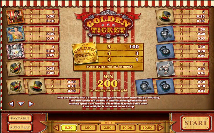 Golden Ticket Screenshot #4