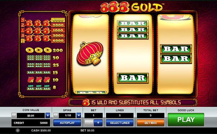 888 Gold Screenshot #1