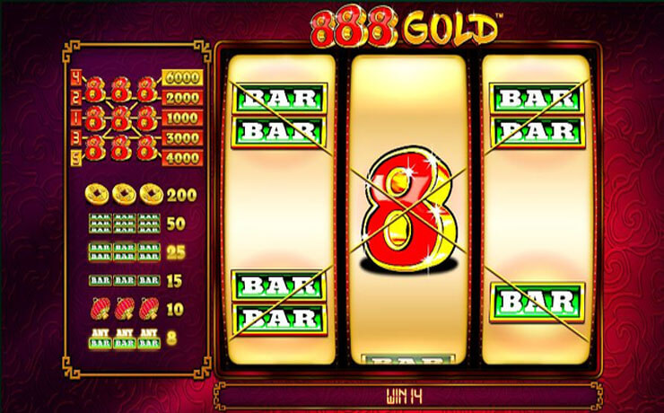 888 Gold Screenshot #3