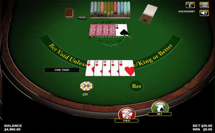 Caribbean Stud Poker Screenshot #2
