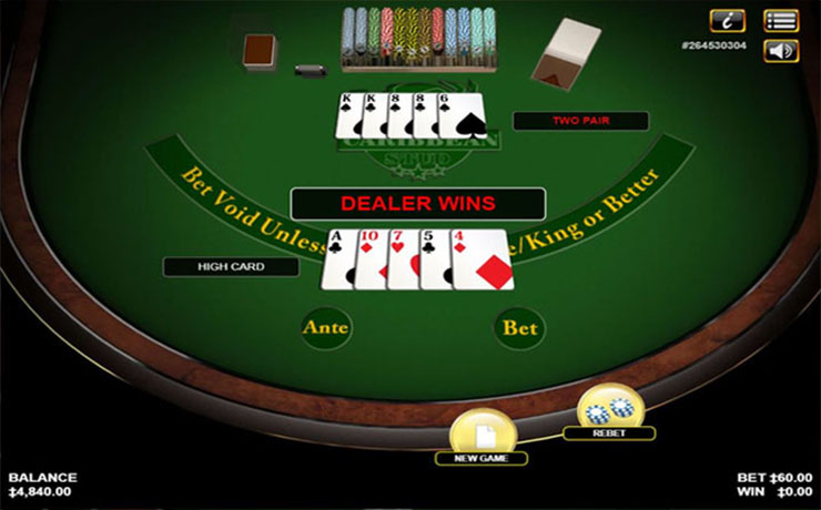 Caribbean Stud Poker Screenshot #4