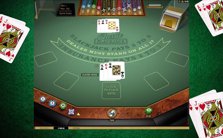 Classic Blackjack Gold Screenshot #1
