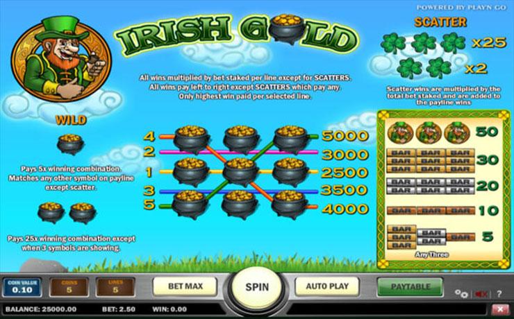 Irish Gold Screenshot #3