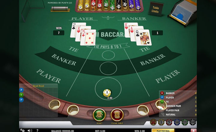 Mini Baccarat Screenshot #1