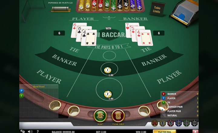 Mini Baccarat Screenshot #3