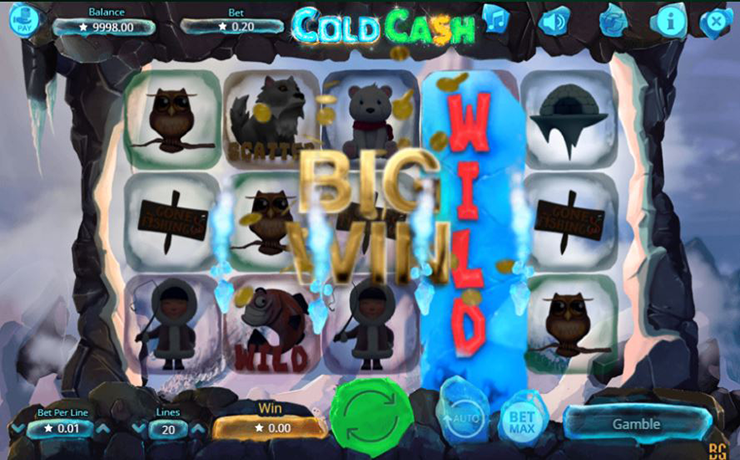 Cold Cash Slot Screenshot #3
