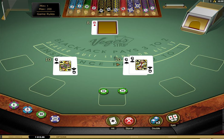 Vegas Strip Blackjack Gold Screenshot #3