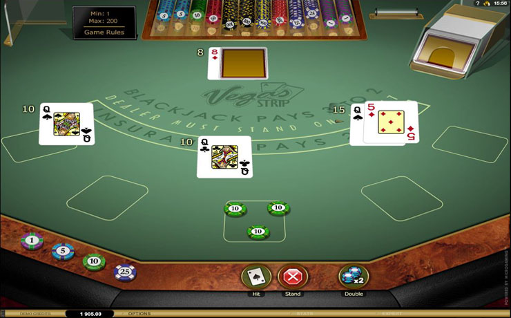 Vegas Strip Blackjack Gold Screenshot #4